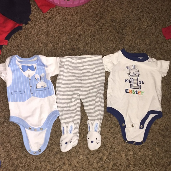 c70490402 Koala Kids Matching Sets | First Easter Baby Boy Outfit 03 Months ...